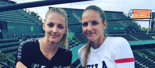 Kristýna a Karolína Plíškovy. Foto: instagram